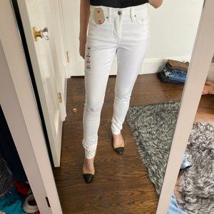 Levi's 311 Shaping Skinny White Jeans